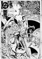 VOLKES, NEIL - Wonder Woman #26 second cover:  Comic Art