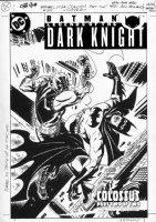 REINHOLD, BILL - Batman Legend of Dark Knight #155 cover Comic Art