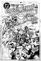 HOBERG, RICK - Captain Carrot and His Amazing Zoo Crew #20 cover, last issue with Changeling from Teen Titans + Gorrila Grodd Comic Art