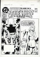 GIFFEN, KEITH- Adventure #492 Cover- Legion / Supergirl Comic Art