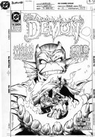 SEMEIKS, Val - Demon #3 cover, with Batman Comic Art