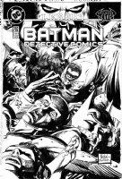 SIENKIEWICZ, BILL & GRAHAM NOLAN - Detective Comics #702 cover, Batman & so many corpses! Comic Art