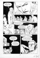 WILLIS, DAMON / KARL STORY - Aliens Genocide #1 pg 21, Space council Alien photos Comic Art