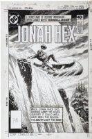 DOMINGUEZ, LUIS - Jonah Hex #37 cover, Hex meets Stonewall Jackson Comic Art