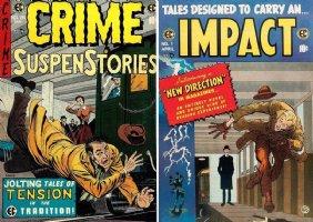 KRIGSTEIN, BERNIE - Impact #1 Master Race publishing Crime #26 to Impact Comic Art