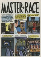 KRIGSTEIN, BERNIE - Impact #1 Master Race pg 1 - the comic book Comic Art