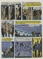 KRIGSTEIN, BERNIE - Impact #1 Master Race pg 7 - the comic book Comic Art