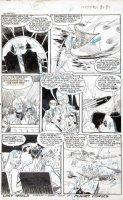 EVANS, GEORGE / AL WILLIAMSON - Planet Comics #64 2-up last pg 9, Lost World 1950 Comic Art