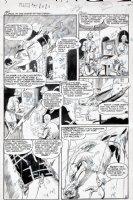 EVANS, GEORGE - Planet Comics #64 pg 3, Lost World 1950 Comic Art