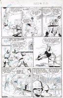 EVANS, GEORGE - Planet Comics #64 pg 7, Lost World 1950 Comic Art