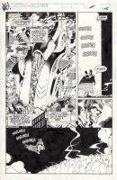 MADUREIRA, JOE - Astonishing X-Men #1 pg 1 Splash /Uncanny #321-B, 1st app. Rex - reporting to Apocalypse  Comic Art