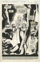 MADUREIRA, JOE - Astonishing X-Men #1 pg 1 Splash /Uncanny #321-1/2, Magneto Nightcrawler Rogue Gambit Comic Art