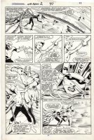 DAVIS, ALAN - New Mutants Annual #2 pg 41, 1st Psylocke / Betsy & Douglock + Capt Britain 1986 Comic Art