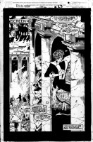 MADUREIRA, JOE - Excalibur XX Crossing #1 full splash pg 23, large Nightcrawler & Fall of Rome Comic Art