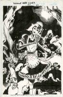 MADUREIRA, JOE - Uncanny X-Men #347 Splash, Magneto's Nanny & other robots great Joe Comic Art