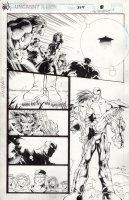 MADUREIRA, JOE / Tim Townsend - Uncanny X-Men #325 pg 8, X-men team & Callisto Comic Art