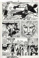 BYRNE, JOHN - Starbrand #12 pg 11, Phoenix lives & X-Men comic-con, Starbrand vs God 1988 Comic Art