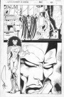 MADUREIRA, JOE / TOWNSEND - Uncanny X-Men #325 pg 17, 3 panels! Mr Sinester Comic Art