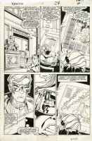 SIMONSON, WALT - X-Factor #13 pg 19, Phoenix Issue - Cyclops discovers Maddy & Jean secret Comic Art