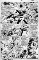 STERANKO, JIM - X-Men #51 pg 9, X-Men vs Polaris / Magneto Comic Art