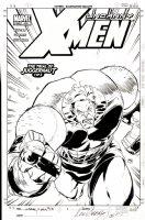 GARNEY, RON - Uncanny X-Men #435 published cover - Juggernaut trial Comic Art