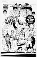 TAN, BILLY - Uncanny X-Men #2 cover, Neal Adams MF #1 Variant ala 1st Defenders Comic Art