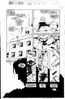 MADUREIRA, JOE - Uncanny X-Men #340 pg 7, Storm & Iceman Comic Art