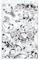 MADUREIRA, JOE / TOWNSEND - Astonishing X-Men #4 / Uncanny #321-1/2 D. Splash pg 7, Team intro: Rogue Morph Sunfire Wild-Child Comic Art
