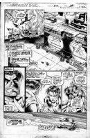 MADUREIRA, JOE / Tim Townsend inks - Uncanny X-Men #312 pg 22, 1st Joe Mad issue! Storm, Gambit, Yukio Comic Art