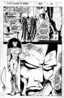 MADUREIRA, JOE / TOWNSEND - Uncanny X-Men #325 pg 17, 3 panels! Mr Sinester - w/ lettering Comic Art