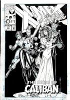 MADUREIRA, JOE - X-Men Classic #83 cover, Wolverine, Rogue and Storm stop Kitty's wedding  Comic Art