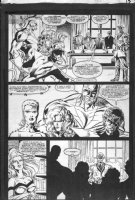MORGAN, TOM - Excalibur The Possession #1 pg full team 1991 Comic Art