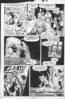 BLEVINS, BRET / AL WILLIAMSON - New Mutants #80 pg 18, Mutants in Valhalla Comic Art