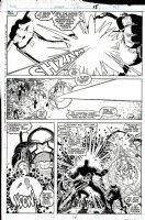 ADAMS, ART - Uncanny X-Men Annual #12 pg 24, X-Men Team vs Terminus 1988 Comic Art