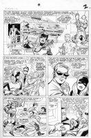 KIRBY, JACK - Uncanny X-Men #10 page 2, X-Team  Comic Art