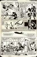 BYRNE, JOHN / TERRY AUSTIN - Uncanny X-men #142 pg 28, X-Team & Mystique  Days of Future Past  concluded Comic Art