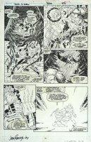 ROMITA JR, JOHN - Uncanny X-Men #300 pg, Bishop, Storm, Wolvie vs Acolytes Comic Art