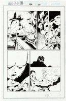 MADUREIRA, JOE / Townsend - Uncanny X-Men #336 pg 22, Apocalypse Cable & Watcher  1996 Comic Art