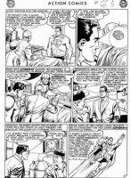 PLASTINO, AL & STAN KAYE - Action Comics #282 2up pg 5, Superman helps surgery Comic Art
