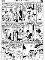 PLASTINO, AL & STAN KAYE - Action Comics #282 2up story, pg 2, Superman & Robots !  Comic Art