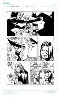 ADLARD, CARLIE - Walking Dead #42 pg 17, Carl, Sophia and Patricia Comic Art