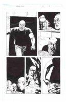 ADLARD, CHARLIE - Walking Dead #31 pg 5, dead Eugene & Harold fight Woodbury arena, Dr Stevens - FULL SIZE Comic Art