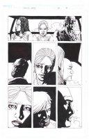 ADLARD, CHARLIE - Walking Dead #34 pg 15, Rick, Michonne, Alice, Martinez - FULL SIZE Comic Art