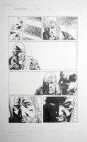 ADLARD, CHARLIE - Walking Dead #70 pg 9, Rick & 1st app. of Leader / ex-Congressman of Alexandria Safe-Zone Comic Art