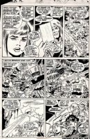 BUSCEMA, JOHN - Astonishing Tales #12 pg 5, Ka-Zar, Barbara Morse (Mocking Bird / SHIELD Agent 19) introduced! Comic Art