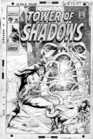 WRIGHTSON, BERNI - 1'st Kull cover - Tower Of Shadows #10, Marvel changed to Creatures on the Loose #10  Comic Art