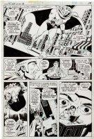WOOD, WALLY / with ESTRADA - Isis #1 pg 9, 1st appearance, Scarab hunts Isis / Andrea Thomas Comic Art