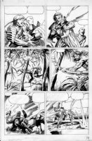 WINSOR-SMITH, BARRY - Archer & Armstrong #2 page - 1st Turok Comic Art