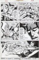 BROWN, BOB - Daredevil #134 last page, DD, 1st Torpedo story Comic Art
