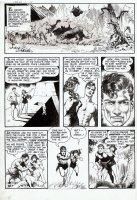 FRAZETTA, FRANK - Thun'da #1 page 2 - 1st Thun'da, Pha, gal & Dino rampage! Comic Art